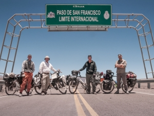 15,505', Chile-Argentina frontier,  Touring-Commuting
